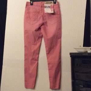 NWT Seven limited edit dusty pink skinny jeans  #6